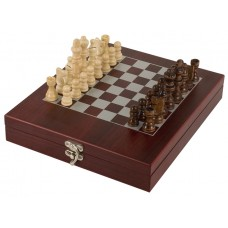 Chess Set in Rosewood Finish